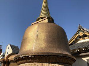第三十九回 仏舎利塔外装工事のお知らせ