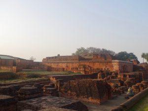 第四十四回 インド仏教聖地巡礼記録(4) 世界最古の大学跡地へ